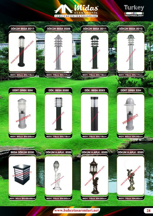 led bega bollards
