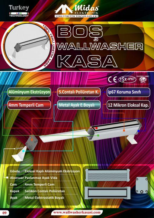 wallwasher boş kasa imalatı